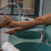 Option Massage/Gommage des pieds 5 minutes